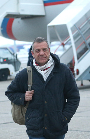 TASS correspondent Alexander Yelistratov