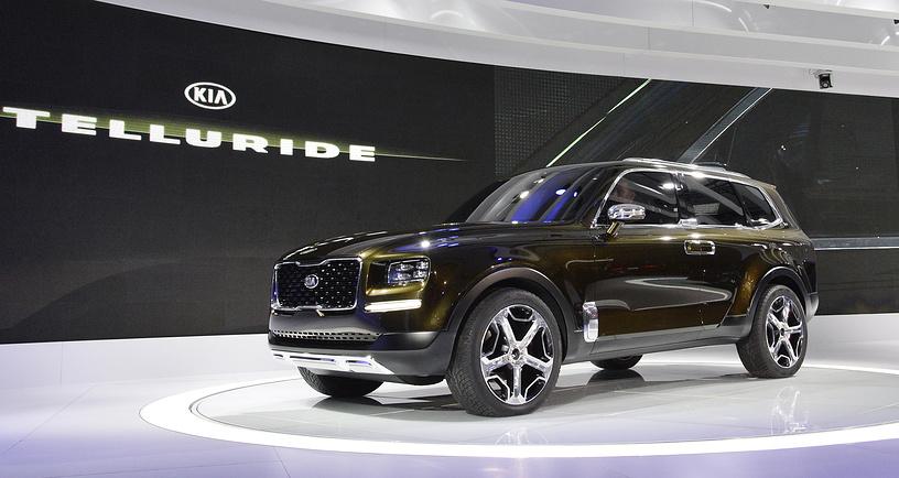 Telluride model concept KIA SUV