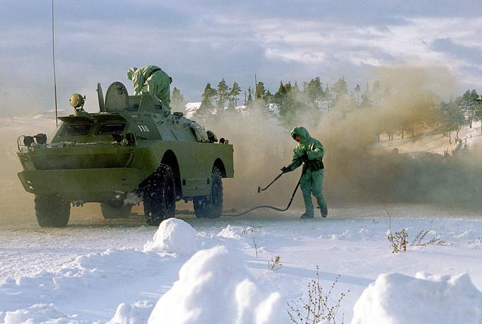 Combat training of Volga-Urals military district, 2002