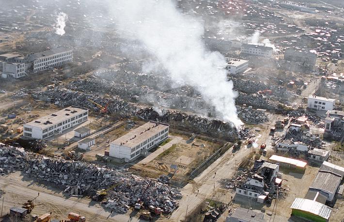 Neftegorsk earthquake, northern Sakhalin Island, 1995