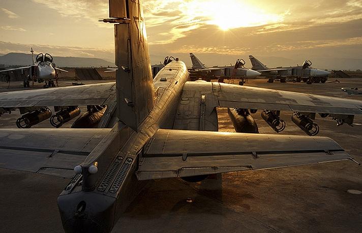Russian warplanes in Syria
