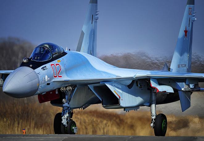 Su-35S fighter jet