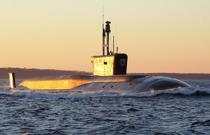 Vladimir Monomakh ballistic missile submarine of the fourth generation Borei class, Project 955