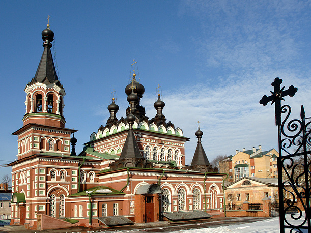 Kirov ranked ninth. Photo: St.Seraphim Cathedral in Kirov
