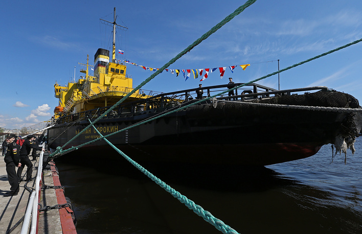 The Kapitan Sorokin ice-breaker