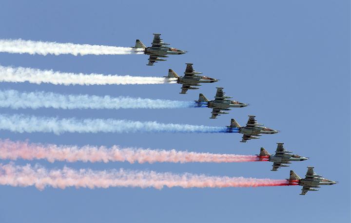 Sukhoi Su 25 jets
