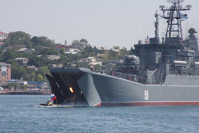 Landing Ship Tsezar Kunikov