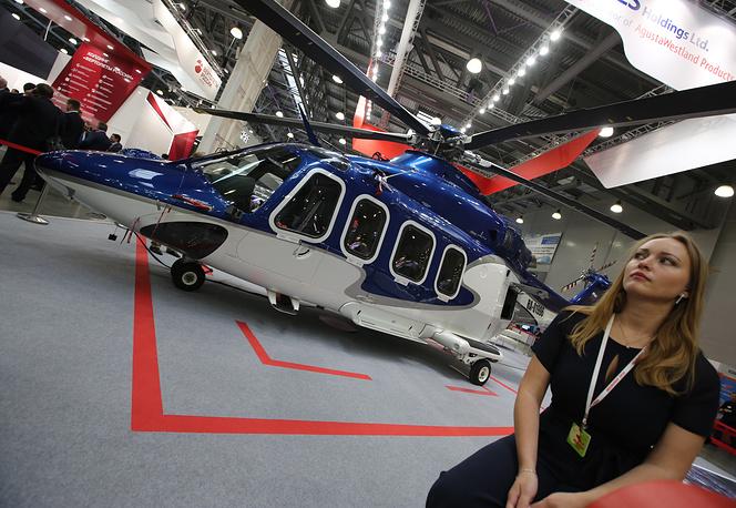 AgustaWestland AW139 helicopter