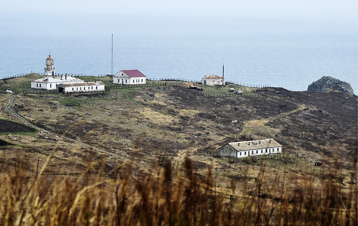 Povorotnyi lighthouse