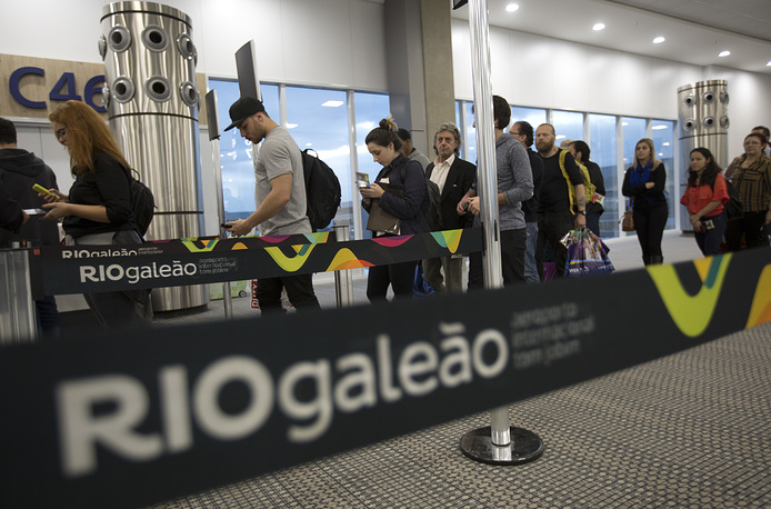 Tom Jobim International airport in Rio de Janeiro