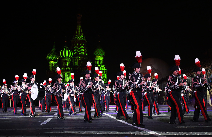 Carabinieri band of Italy performance