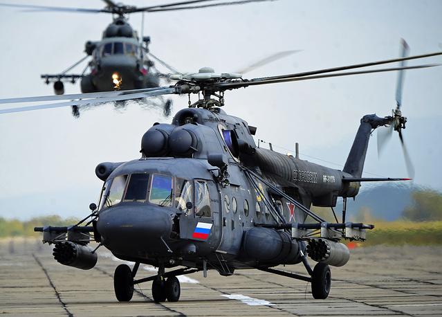 Mil Mi-8AMTsh helicopter
