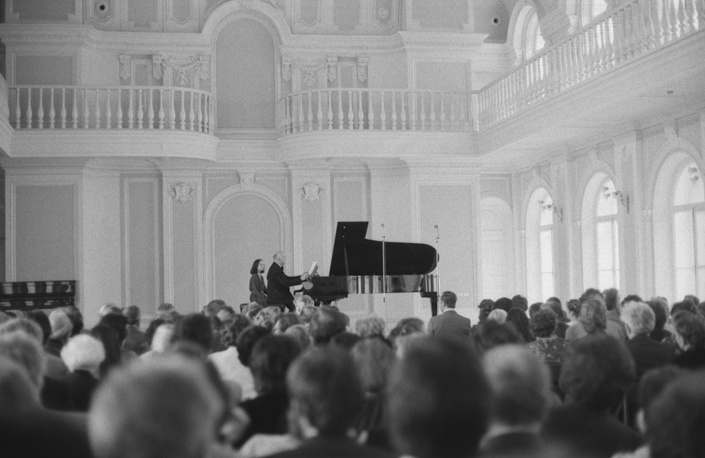 Sviatoslav Richter's concert at the Moscow Conservatory, 1983