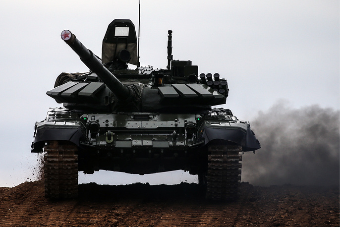 T-72 tank is one of the most widely produced post–World War II tanks. The T-72 was widely exported and saw service in 40 countries and in numerous conflicts. The tank's hull has been used as the basis for other heavy vehicle designs