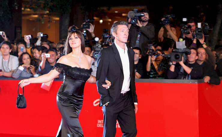 Monica Bellucci and Vincent Cassel  married in 1999 and divorced after 14 years