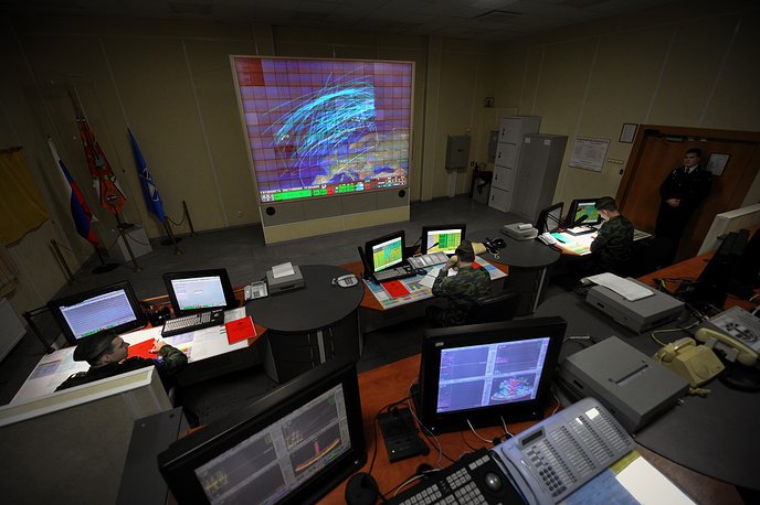 Control room of Voronezh-DM radar