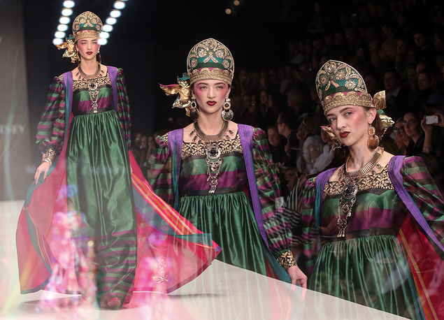 Creations by Russian designer Slava Zaitsev