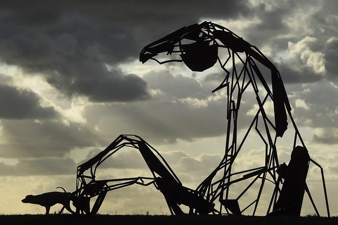 Sculpture 'Transition' by Australian artist Harrie Fasher