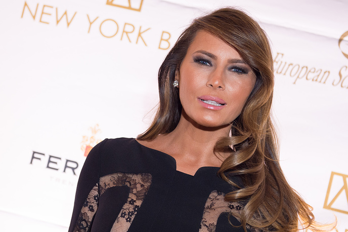 Melania Trump attends the 20th Anniversary European School of Economics New York Ball benefit at Trump Tower, New York, Nov. 19, 2014