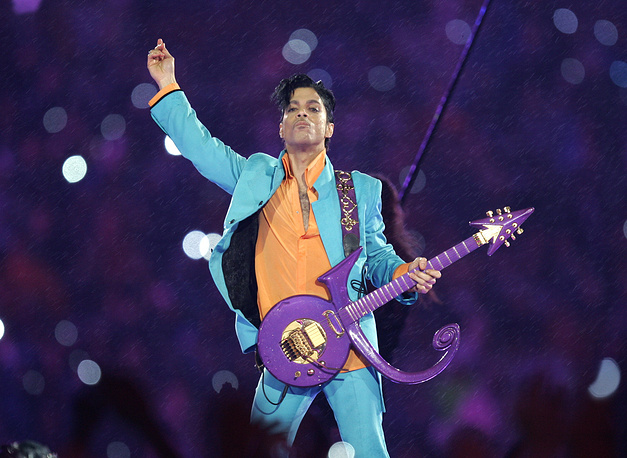 Music superstar Prince died aged 57 on April  21