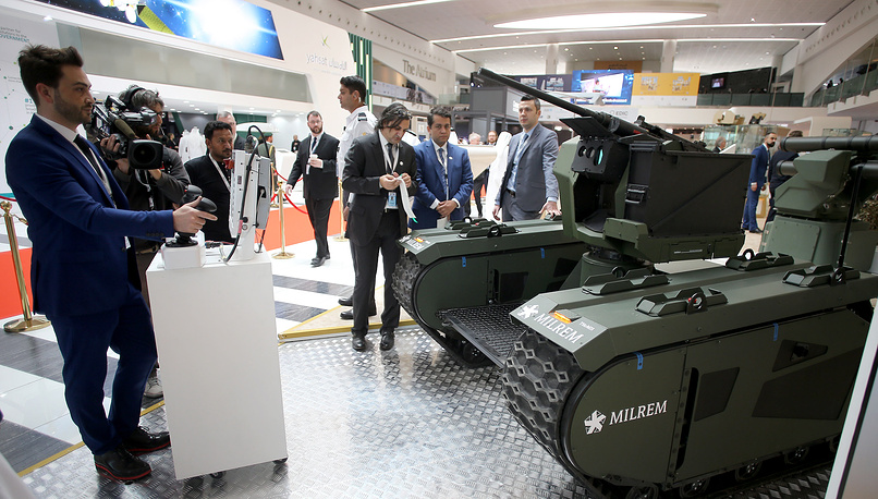 Sarp-Themis Weaponized unmaned vehicle by International Golden Group