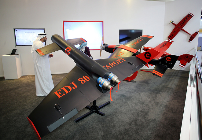 ED-342 Aerial Target Drone by ETIMAD