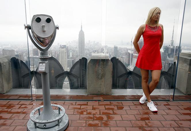 Maria Sharapova in New York, 2007
