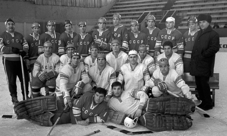 Soviet national ice hockey team players, 1970