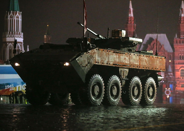 Bumerang armoured personnel carrier