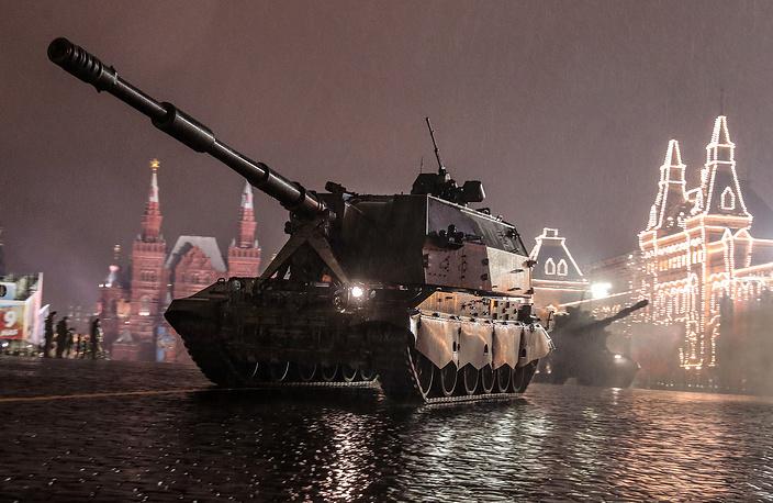 2S35 Koalitsiya-SV self-propelled howitzer