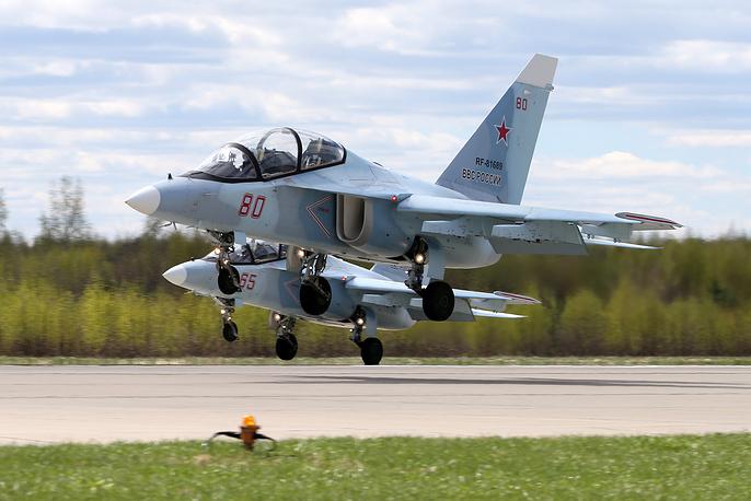 Yakovlev Yak-130 subsonic trainer aircraft
