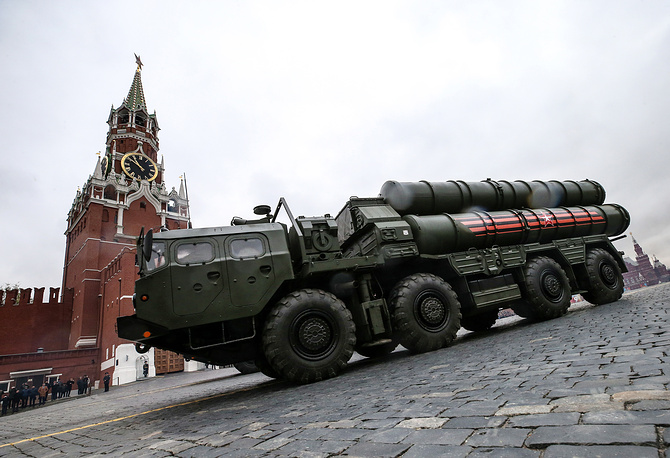 S-400 Triumf medium-range and long-range surface-to-air missile system