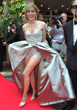 Sharon Stone at the 48th International Cannes Film Festival, 1995