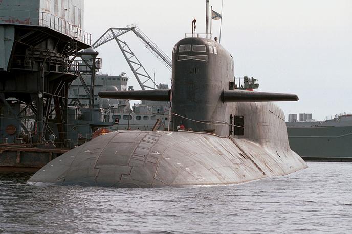 Novomoskovsk nuclear-powered submarine