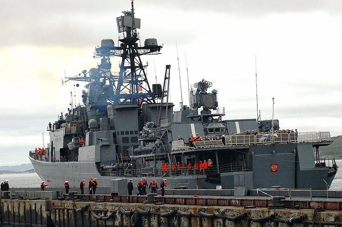 Admiral Levchenko large antisubmarine ship