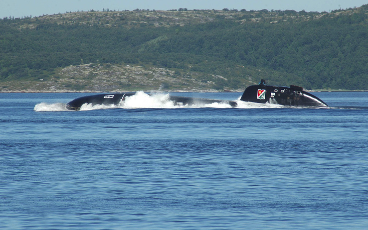Daniil Moskovsky nuclear-powered submarine