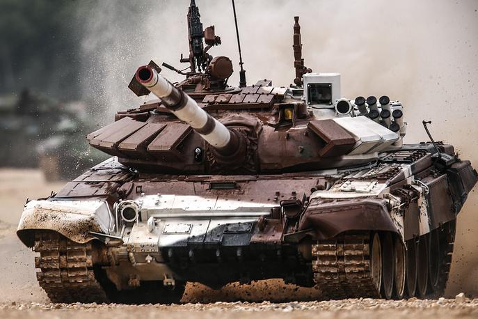 Mongolia's T-72B3 tank