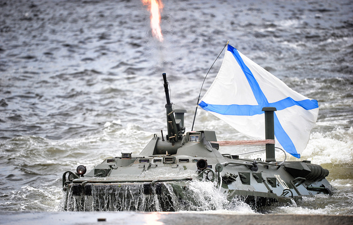 BTR-80 amphibious armoured personnel carrier