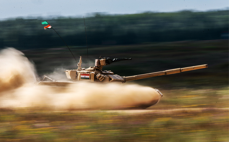 India's T-90S tank