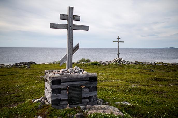 Bolshoy Zayatsky Island, part of the Solovetsky Islands in the White Sea
