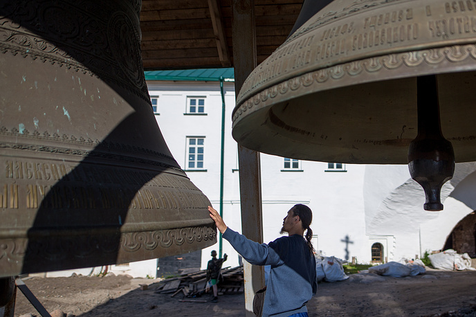 Bells at the Solovetsky Monastery