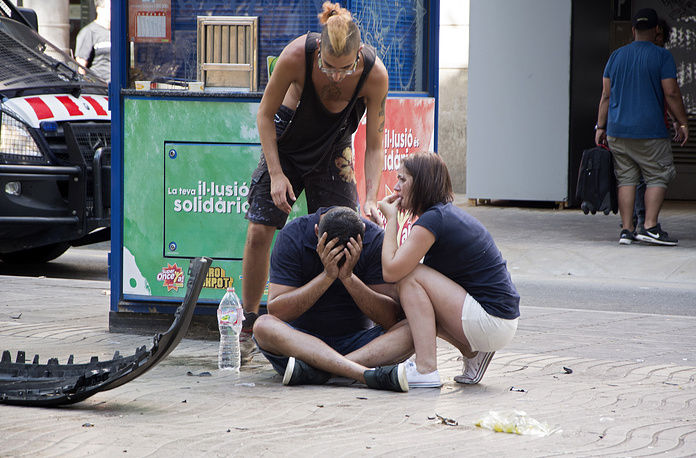 According to the police, 13 people have been killed, and at least 100 have been injured