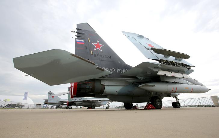 MiG-29K fighter jet