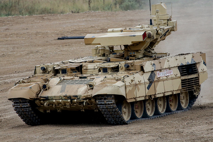 Terminator-3 infantry fighting vehicle