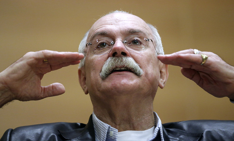 Filmmaker Nikita Mikhalkov