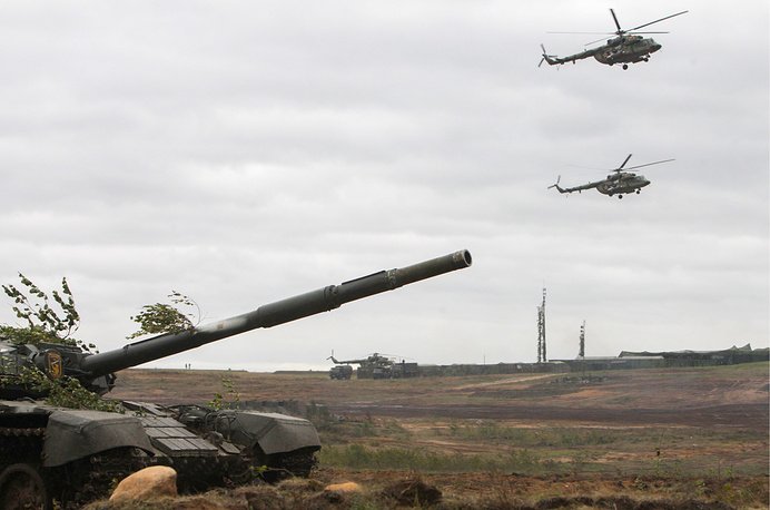Belarus' Mil Mi-8 helicopters