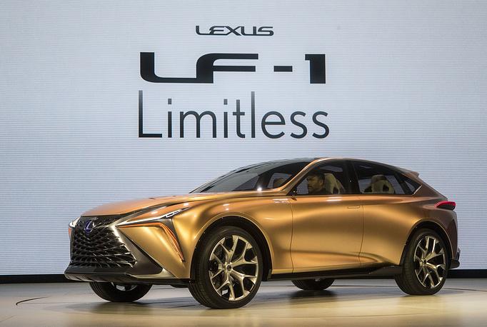 The Lexus LF-1 Limitless concept vehicle