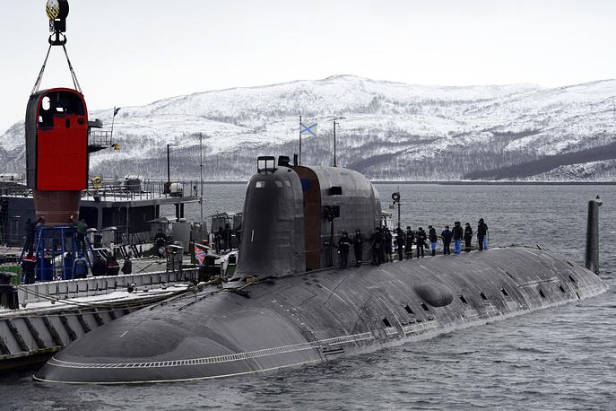 Russian Northern Fleet's Yasen-class Severodvinsk nuclear submarine