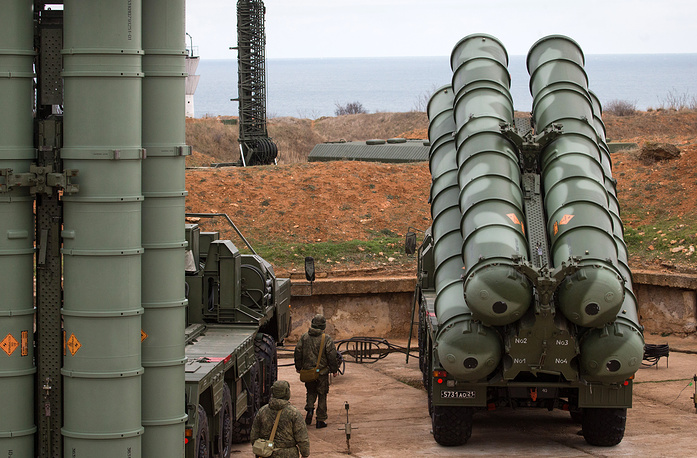 S-400 Triumf is a Russian long-and mid-range anti-aircraft missile system designed to hit attack and reconnaissance aircraft and any other air targets under conditions of intensive enemy fire and electronic countermeasures