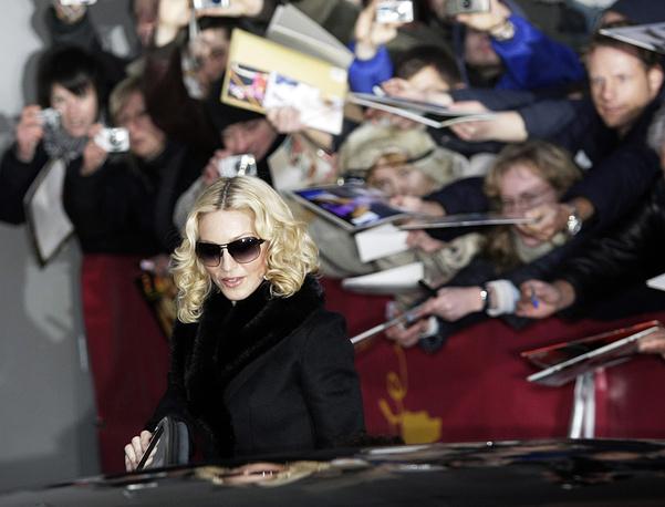 Madonna at the International Film Festival Berlinale in Berlin, 2008